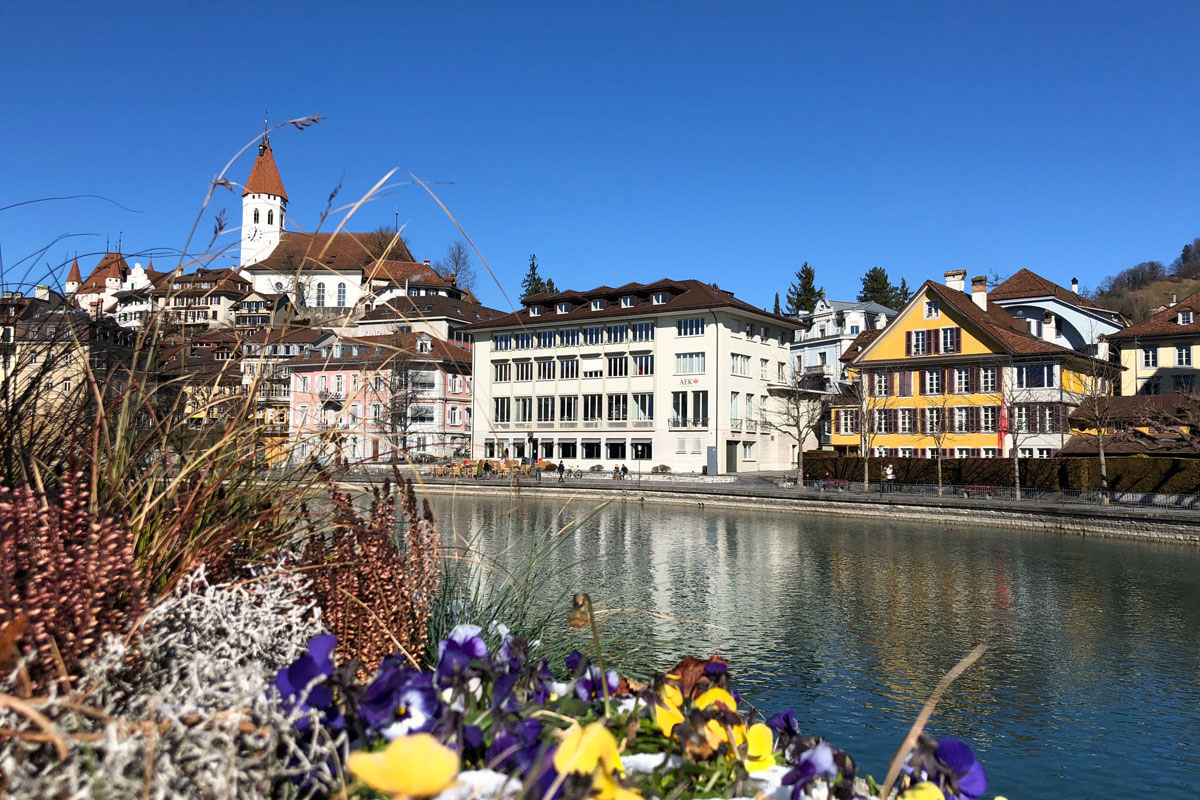 The beautiful town of Thun in Switzerland