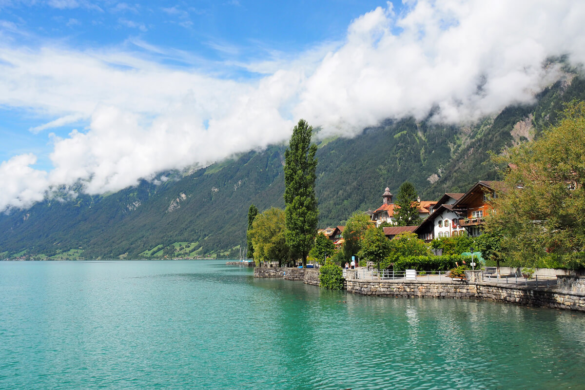 Brienz in Switzerland