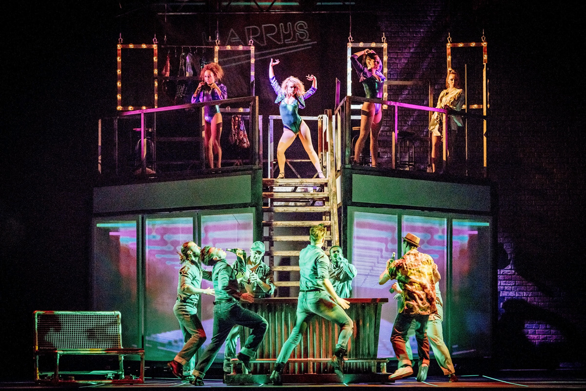 flashdance the musical is coming to z252rich uk cast