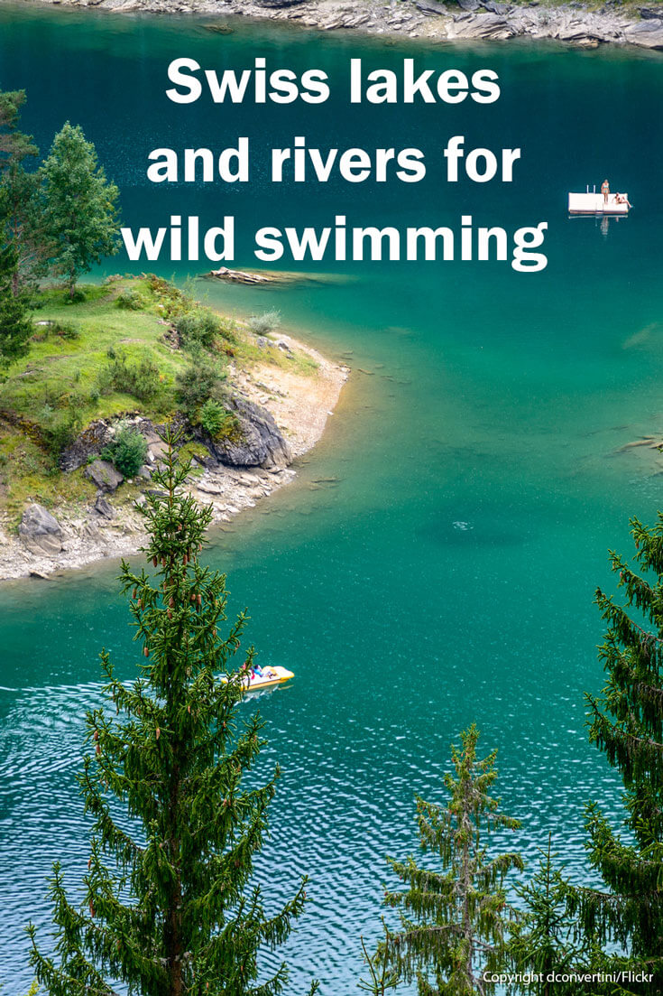Wild Swimming in Switzerland - Lake Cauma (Copyright dconvertini/Flickr)