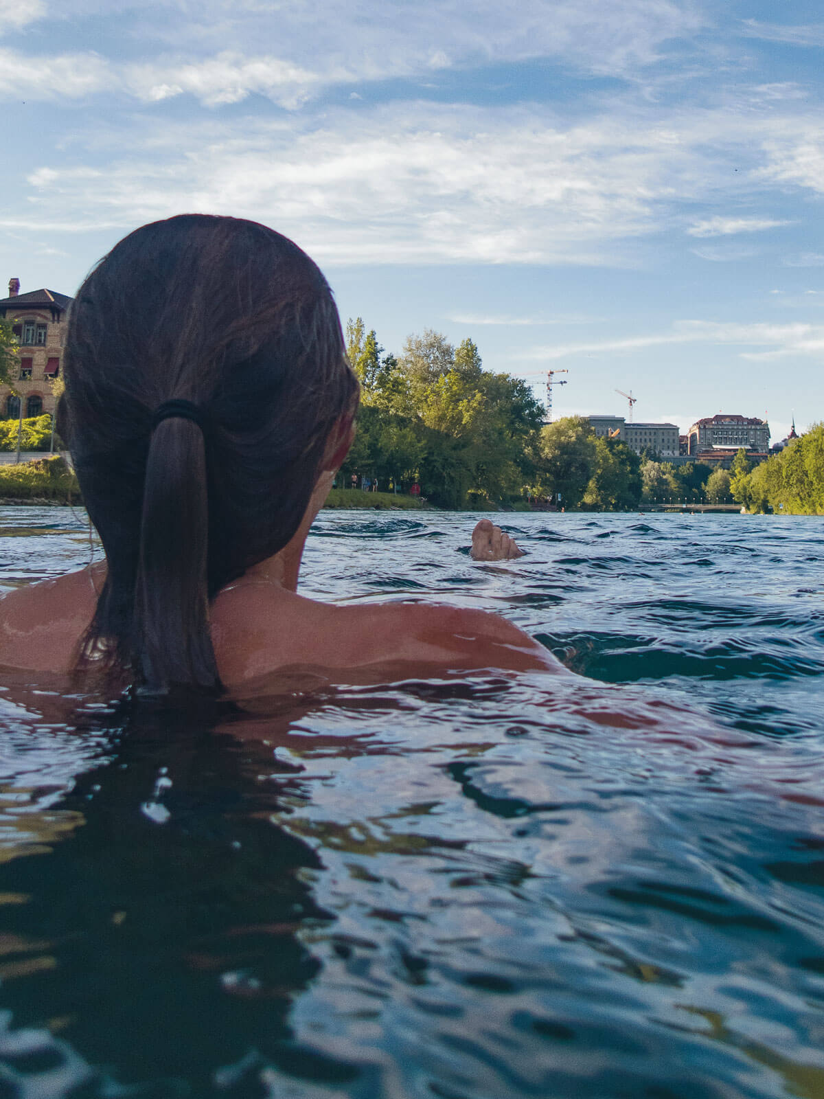 Wild Swim Switzerland - Marzilibad Bern