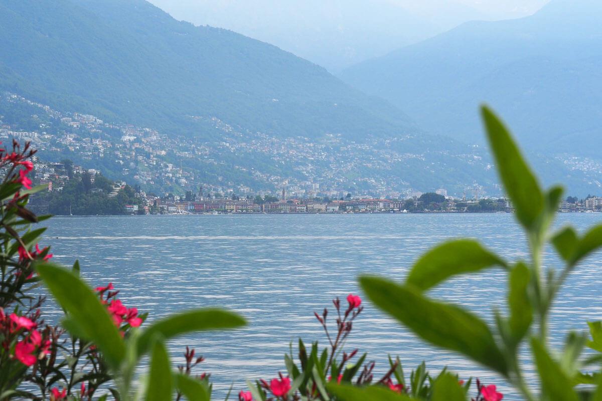 Brissago Islands in Switzerland