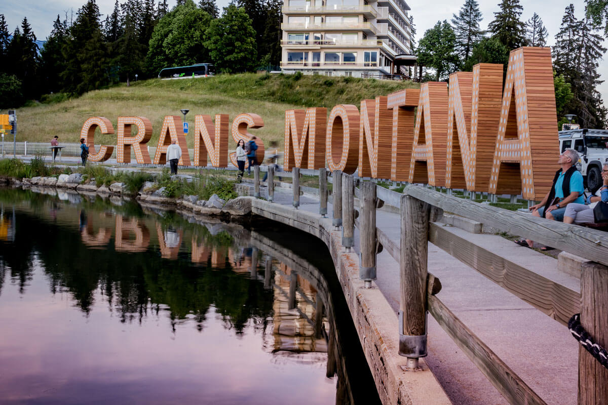 Crans-Montana Summer - Lake