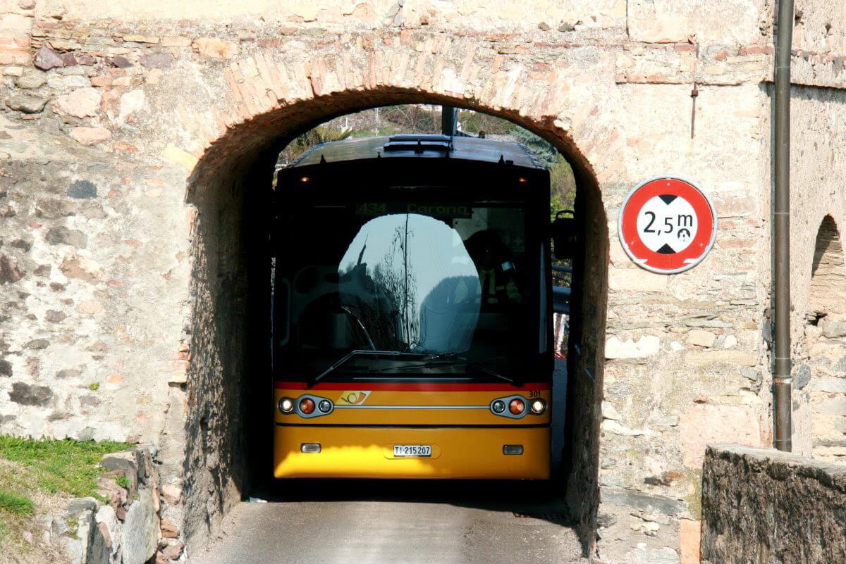 Lugano - Carona Postal Bus