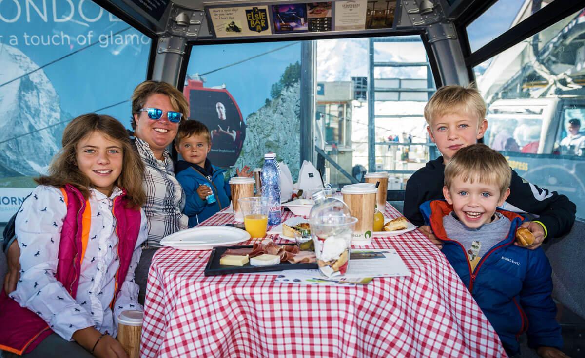Matterhorn Gondola Breakfast