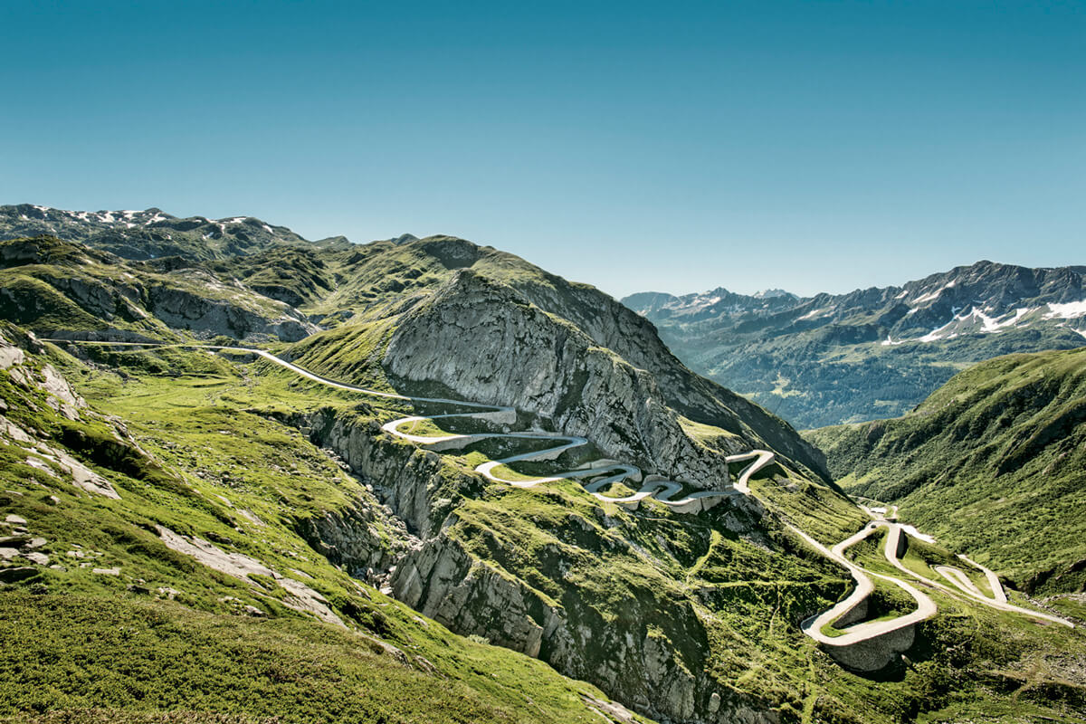 Switzerland - Tremola Road