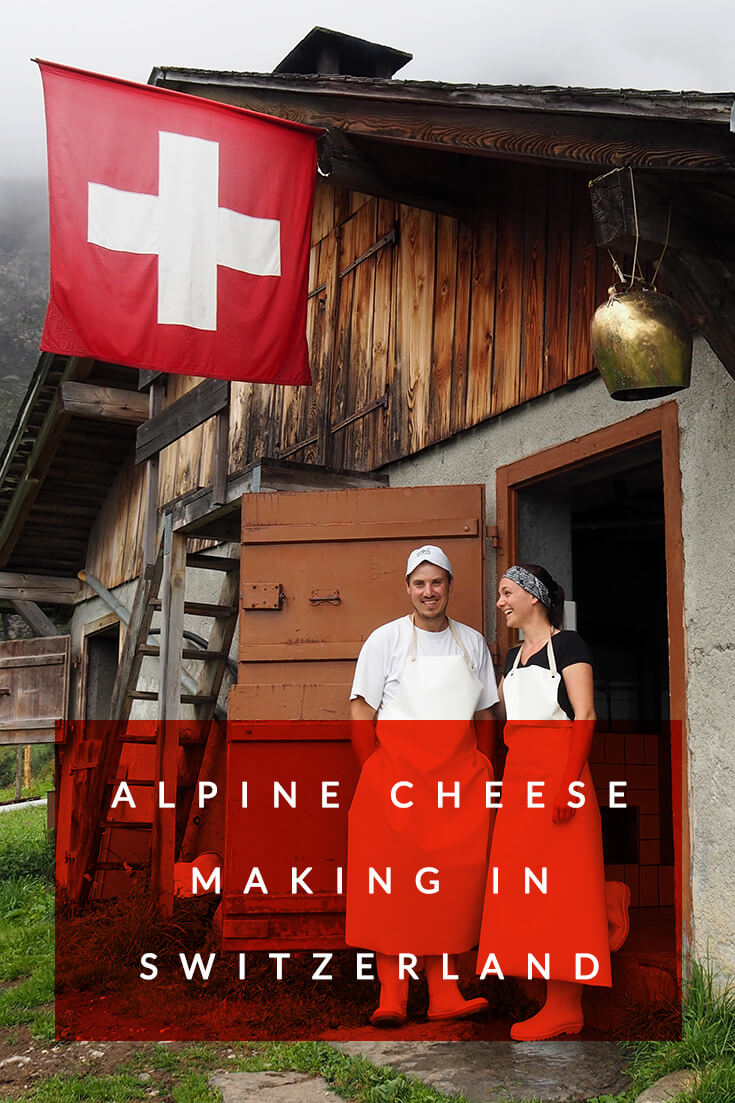 Alpine cheese making experience at Musenalp in #Switzerland