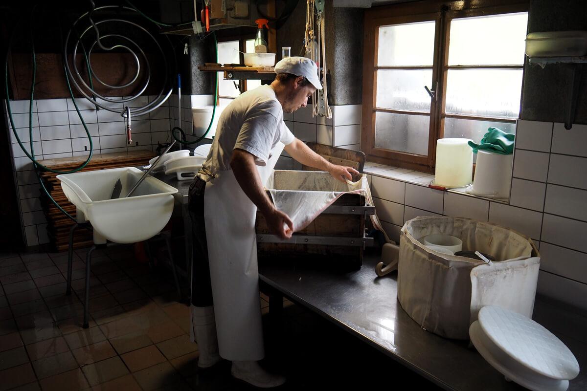 Alpine Cheese Making at Musenalp in Isenthal, Switzerland