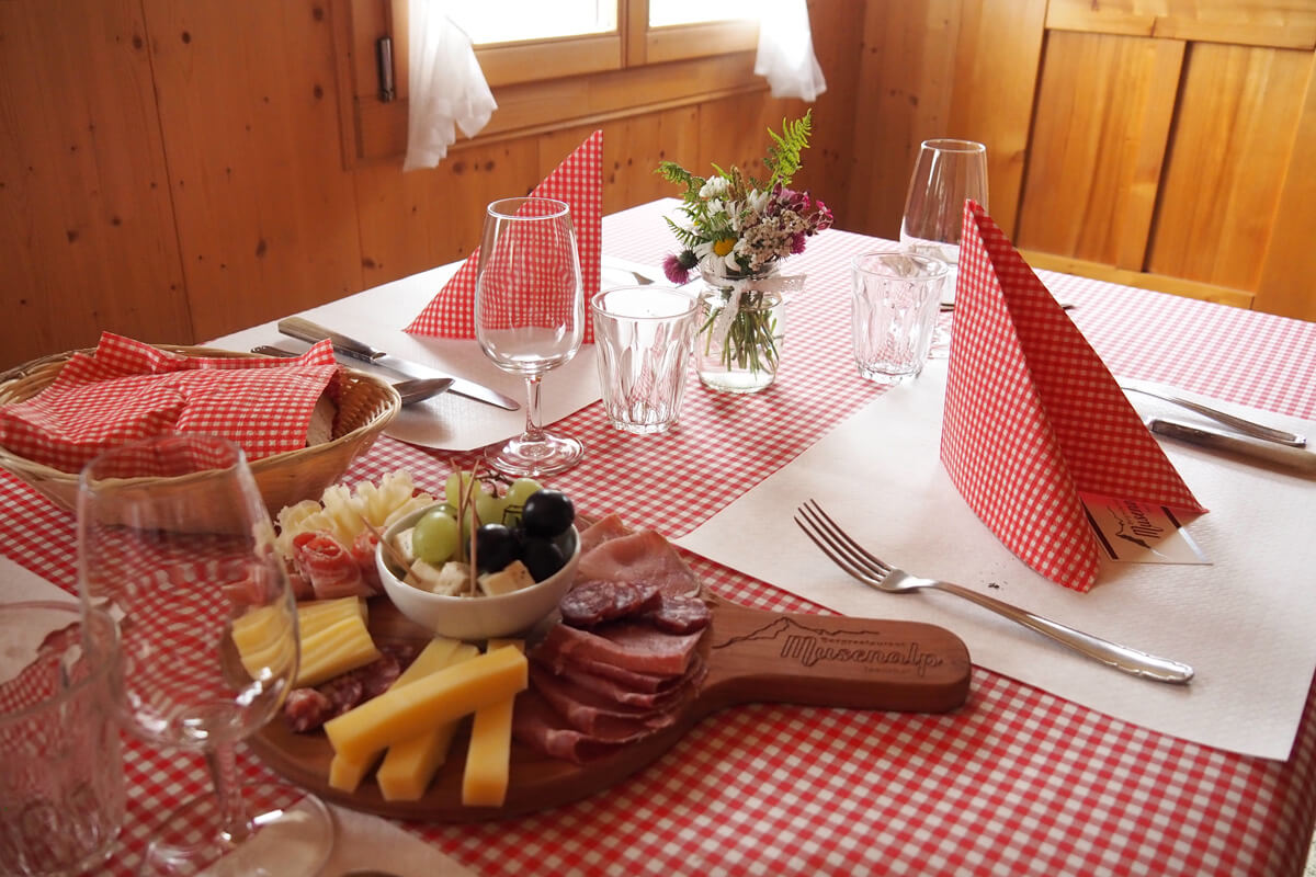 Restaurant Musenalp in Isenthal, Switzerland