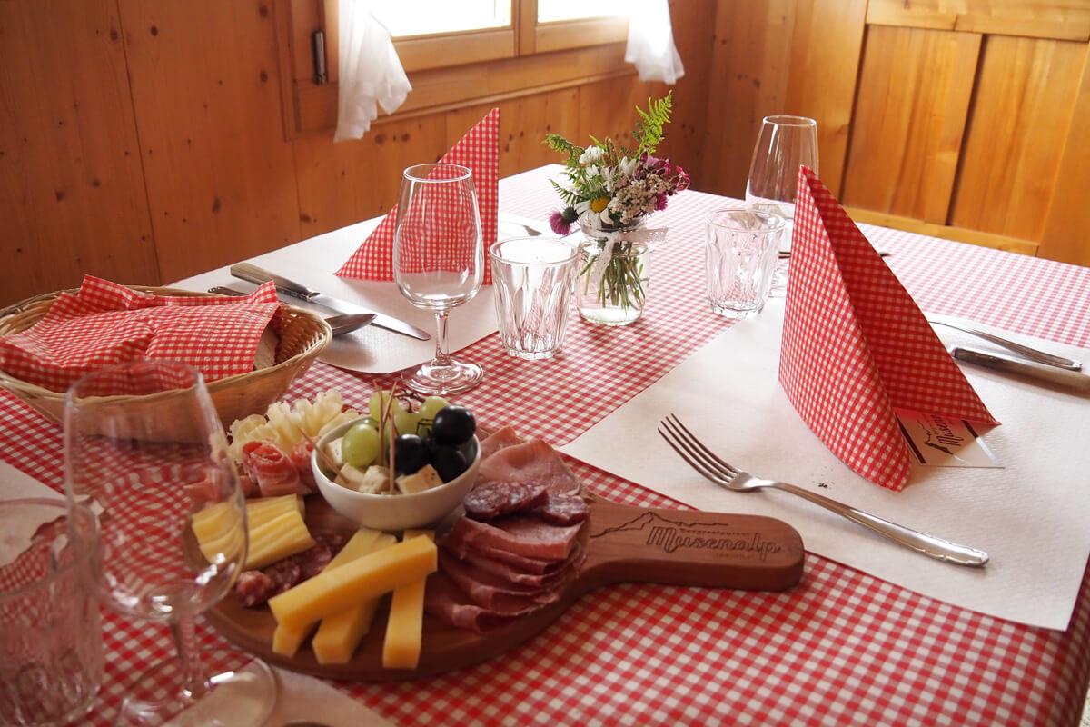 Restaurant Musenalp in Isenthal, Switzerland