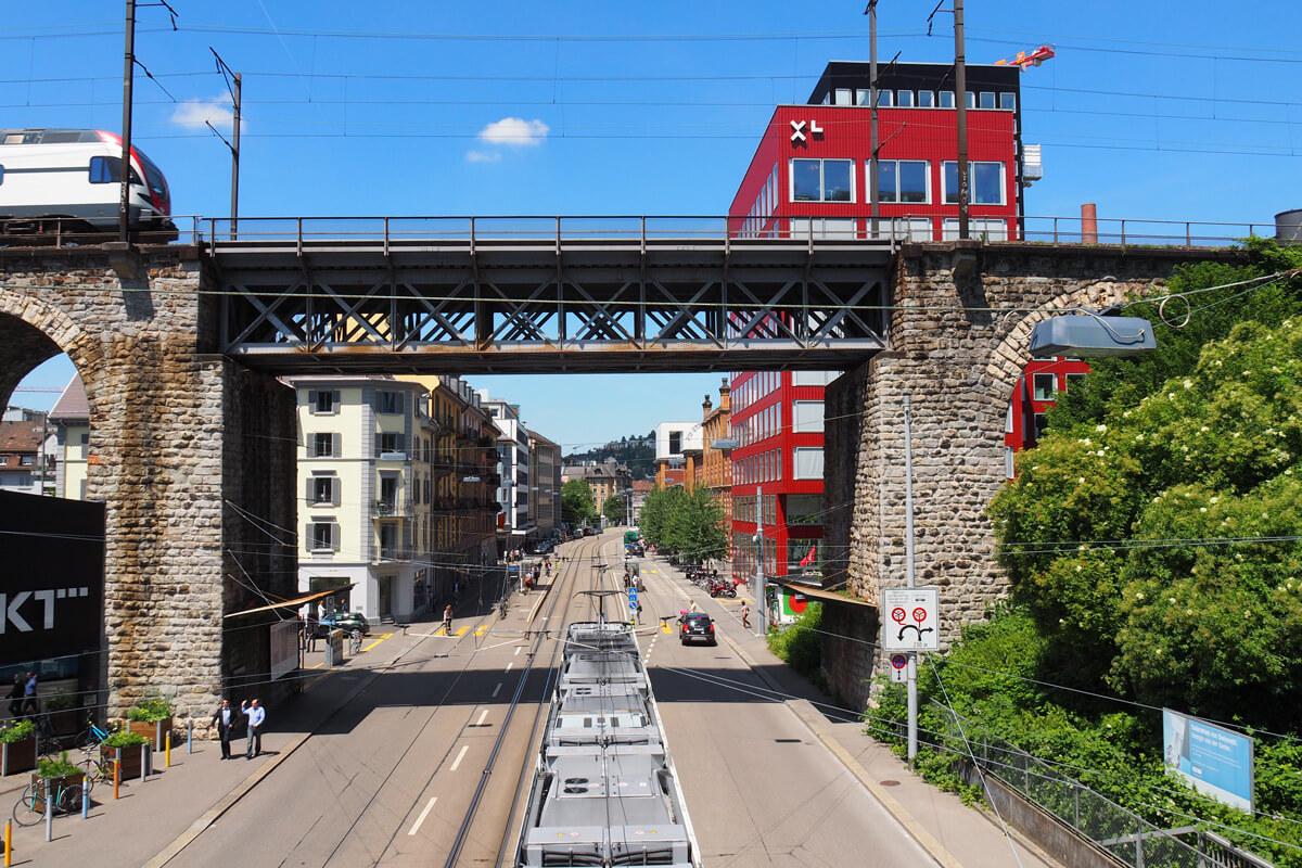 Löwenbräu Areal in Zürich, Switzerland