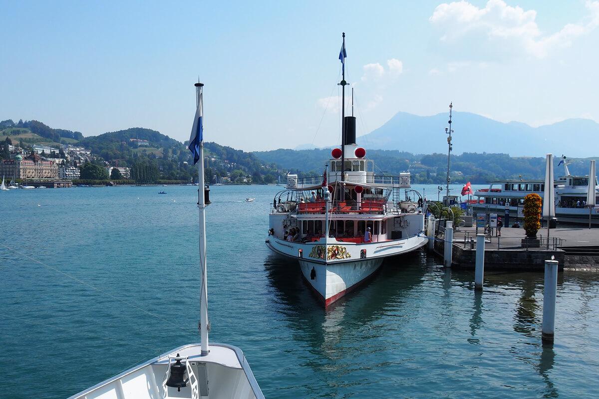 Mount Pilatus Golden Roundtrip - Lake Lucerne