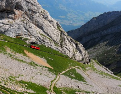Mount Pilatus Golden Roundtrip - Cogwheel Train