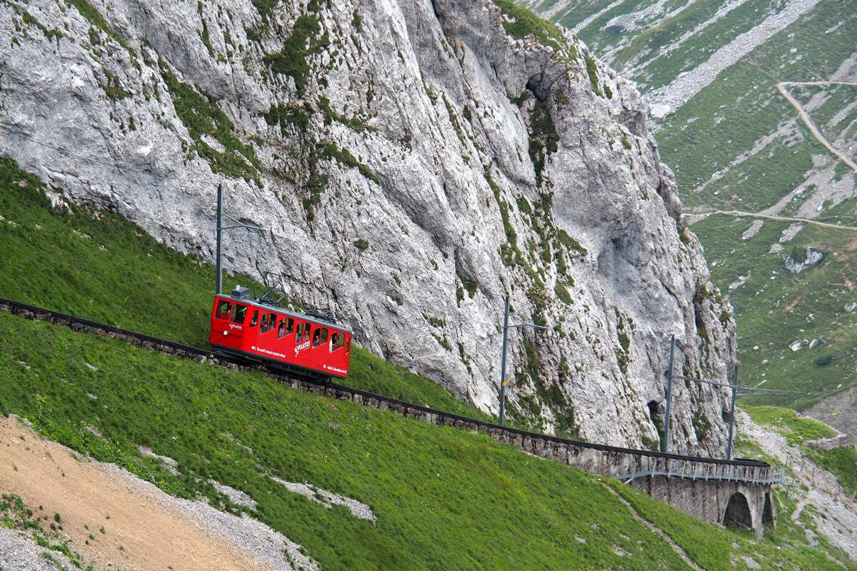 Mount Pilatus Golden Roundtrip - Cogwheel Train