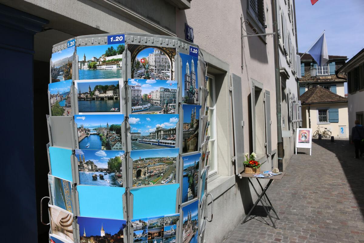 Zürich Switzerland Postcards