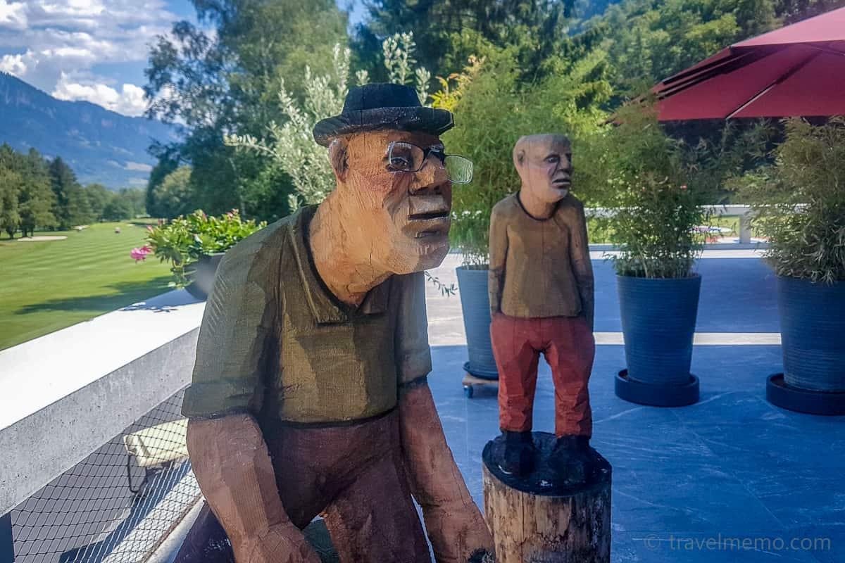 Bad Ragartz - Skulptur Golf Club