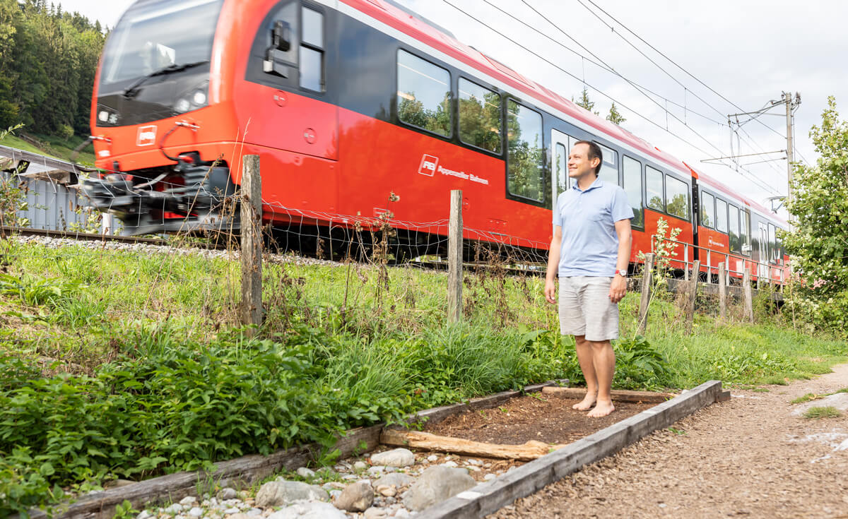 The time I hiked the Appenzell barefoot trail – barefoot!