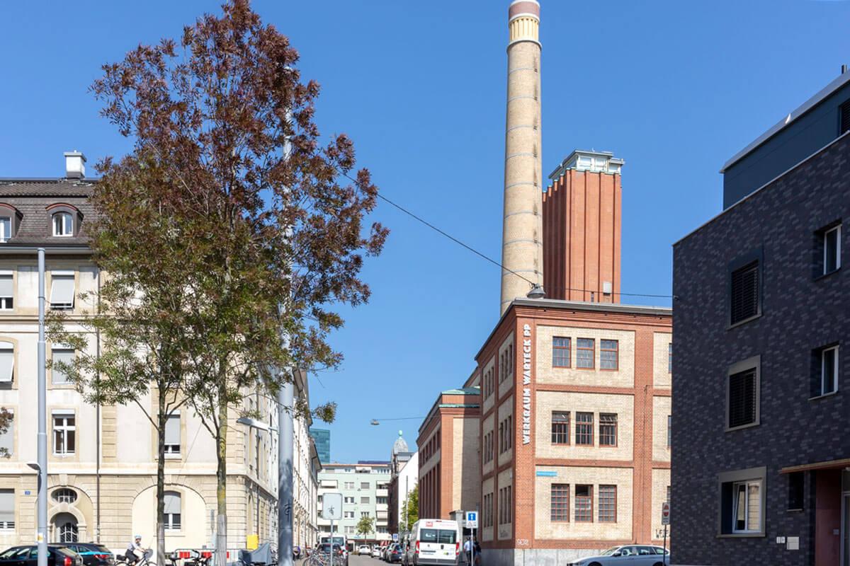 Werkraum Warteck in Basel, Switzerland