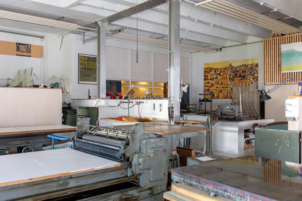 Werkraum Warteck in Basel, Switzerland - druckwerk