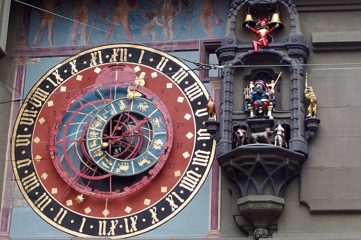 Bern Switzerland Zytglogge Clock