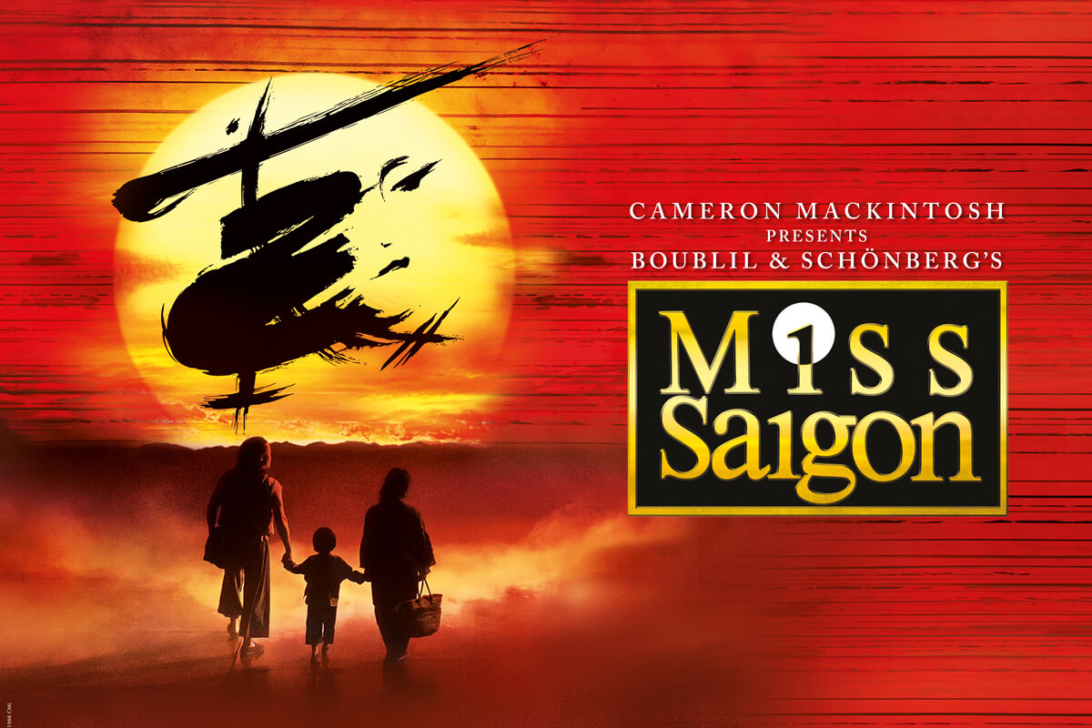 The original MISS SAIGON Musical is coming to Zürich
