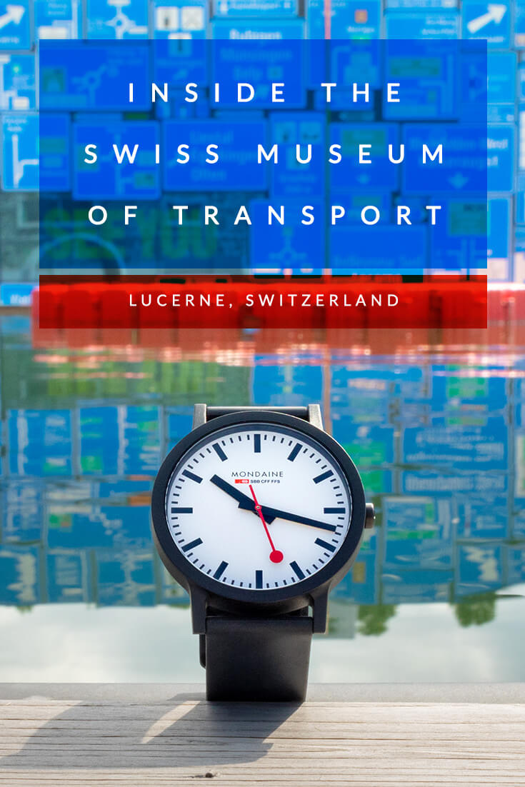 Why it's about time to visit the Swiss Museum of Transport #switzerland