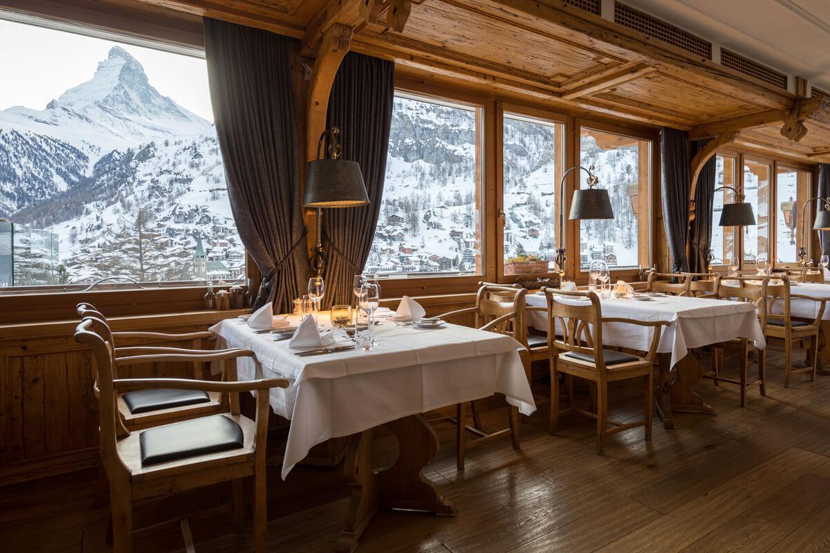 Chalet Hotel Schönegg in Zermatt, Switzerland