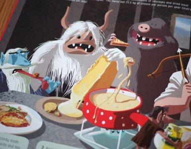 The Monster Book of Switzerland - Swiss Monsters