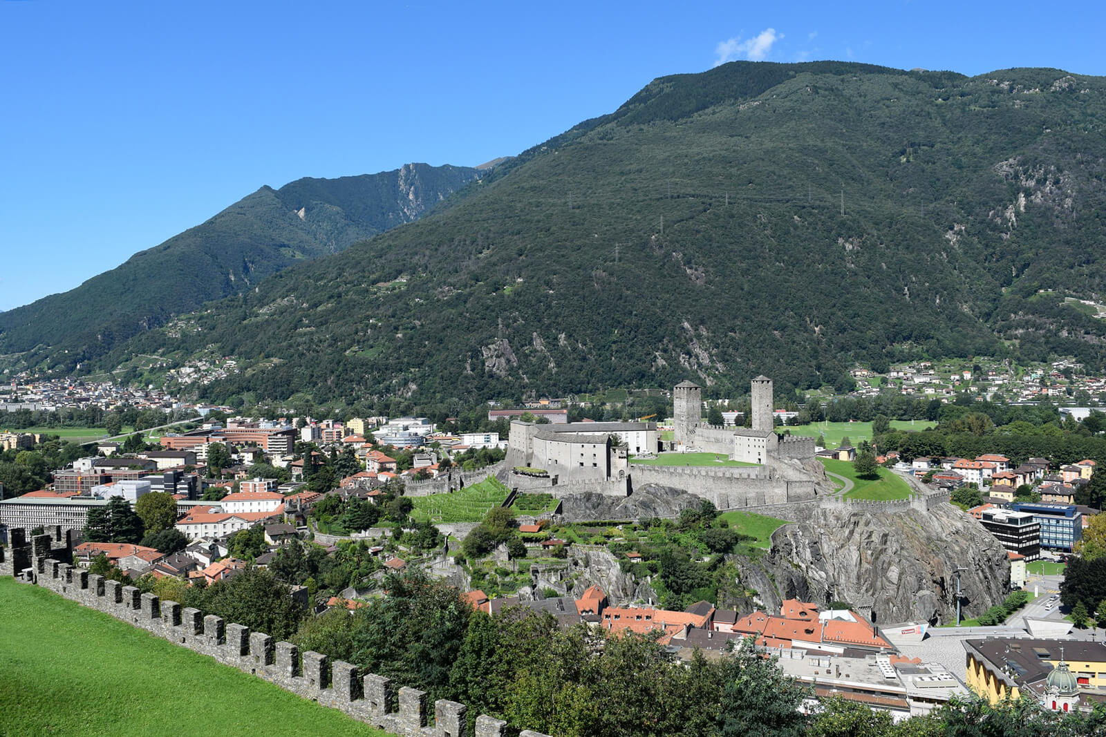 Bellinzona Castles - Copyright Paolo Ghedini