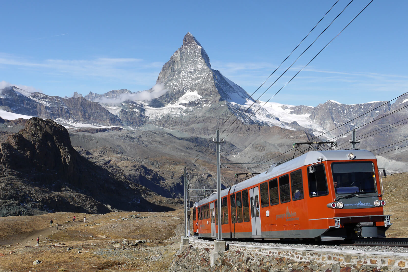 Gornergrat Railway in Zermatt