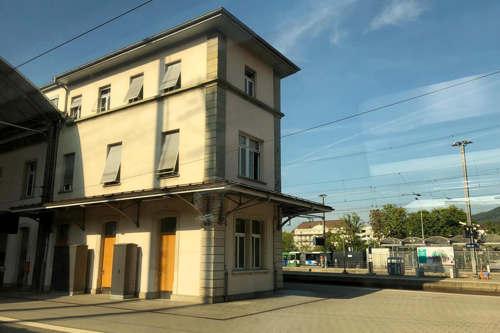 Olten Train Station