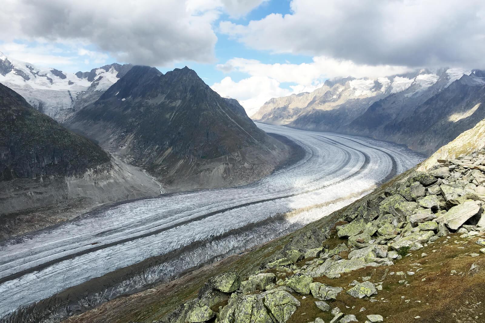 Swiss Alps Jungfrau Aletsch