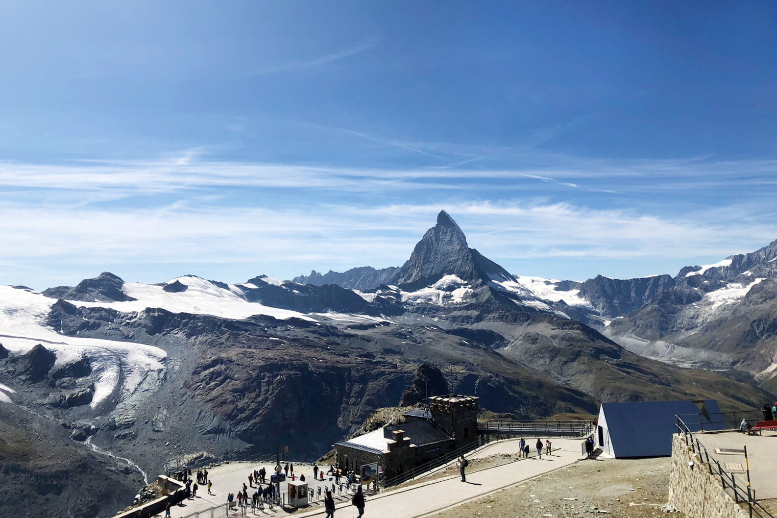 The Matterhorn in Zermatt, Switzerland