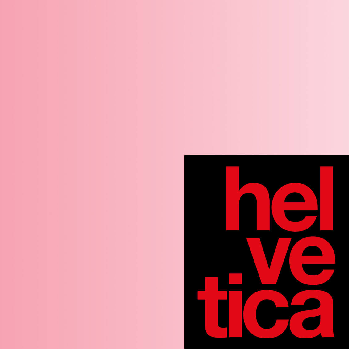 Swiss Inventions - Helvetica Typeface
