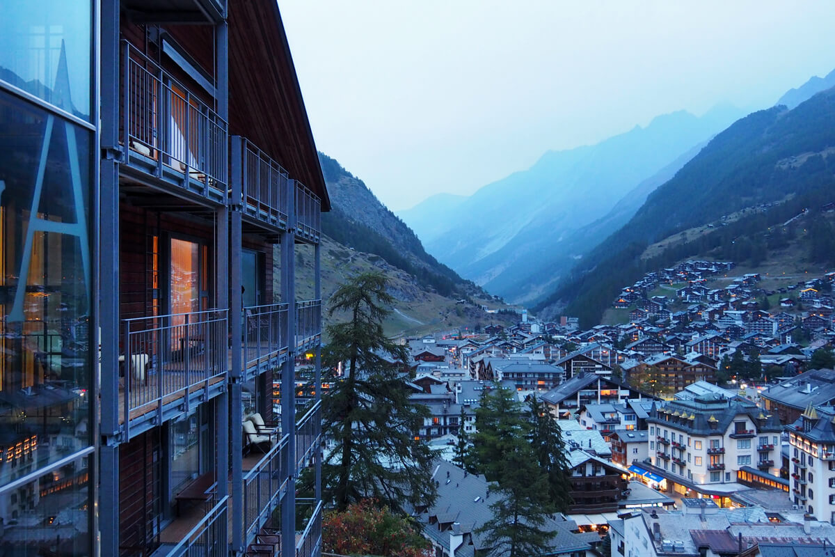 THE OMNIA Design Hotel in Zermatt, Switzerland