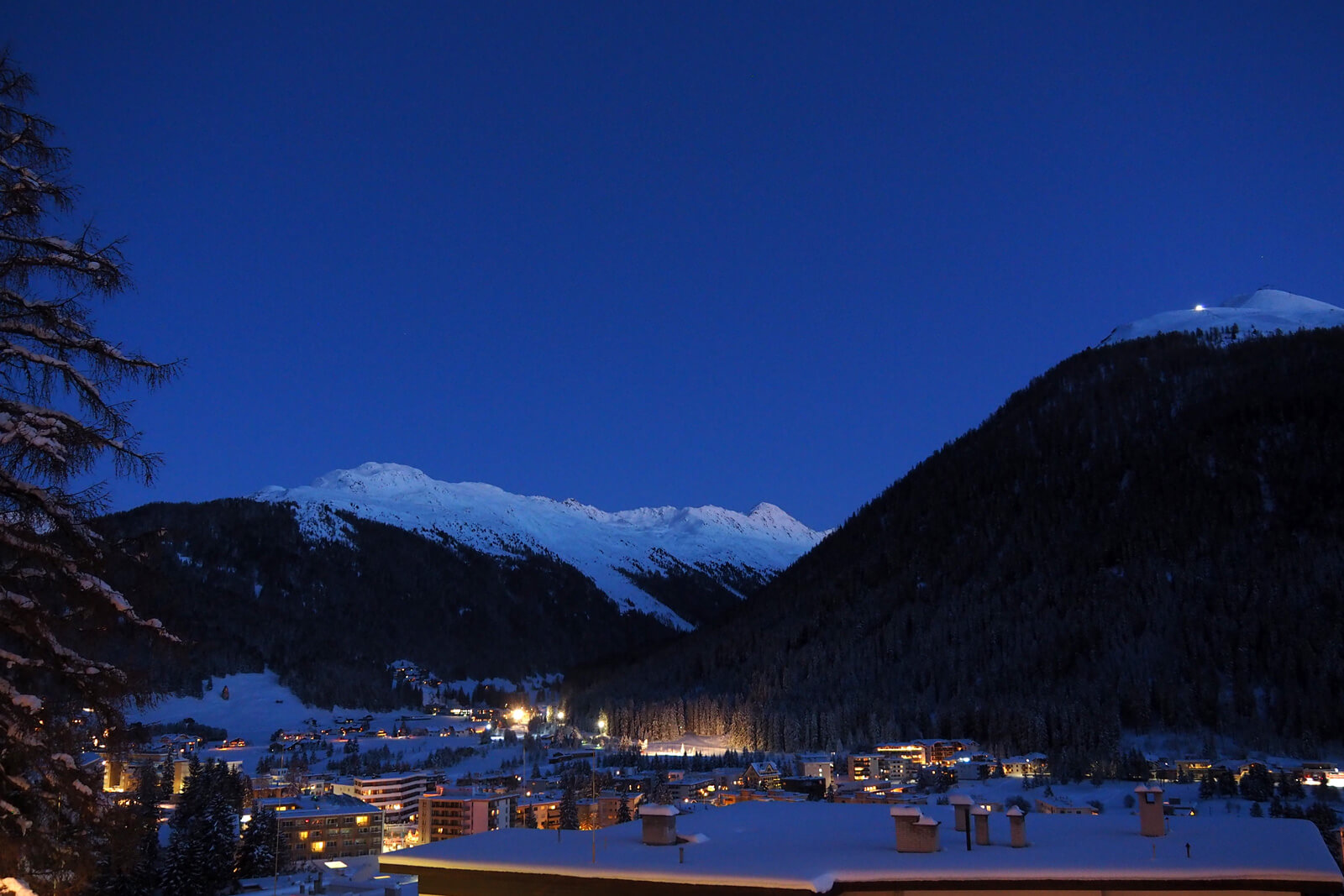Davos, Switzerland - Night View