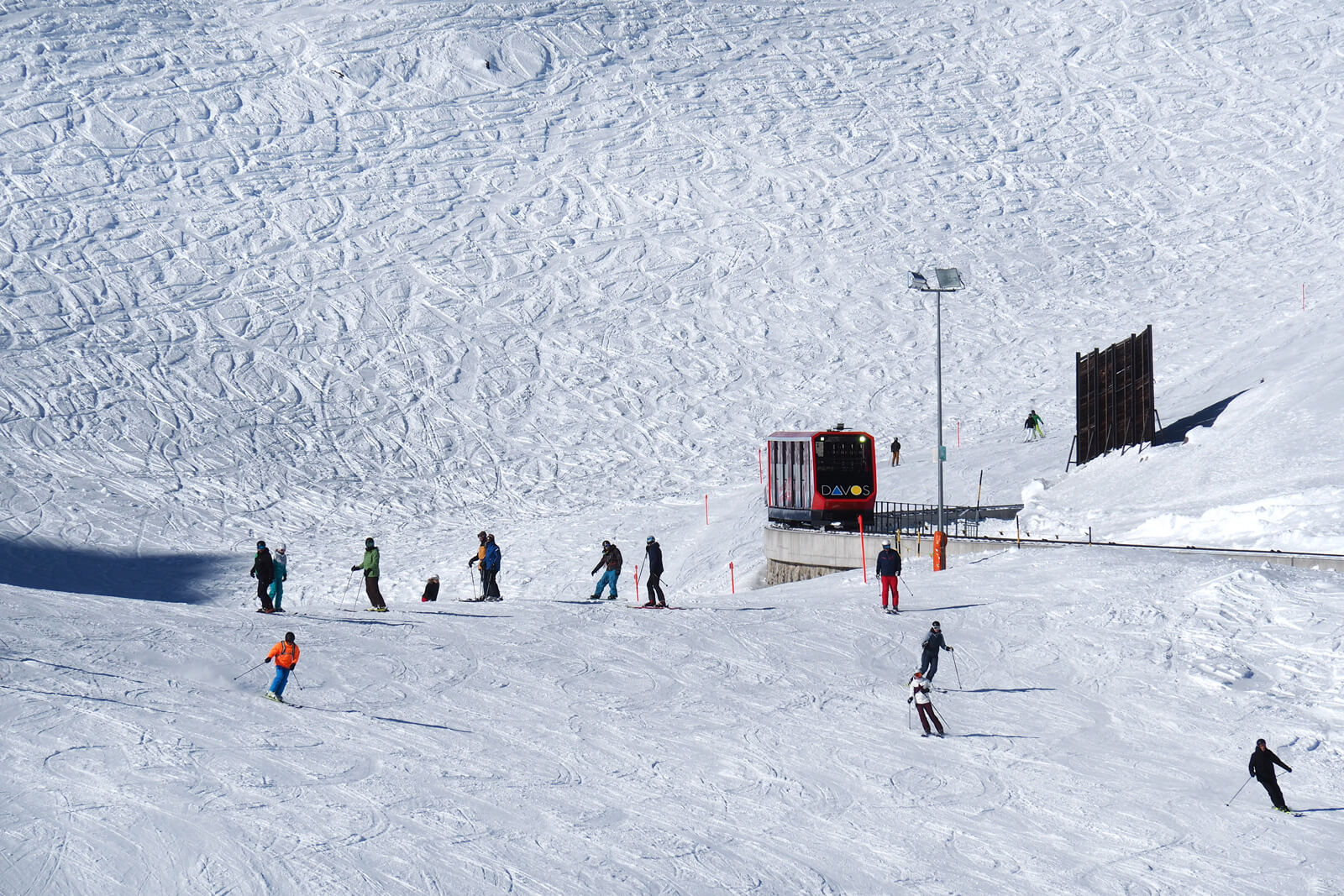 Davos, Switzerland - Parsenn Skiing