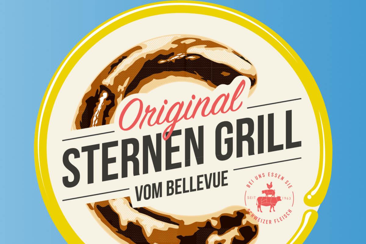 Sternengrill Bratwurst - Zürich Delicacy
