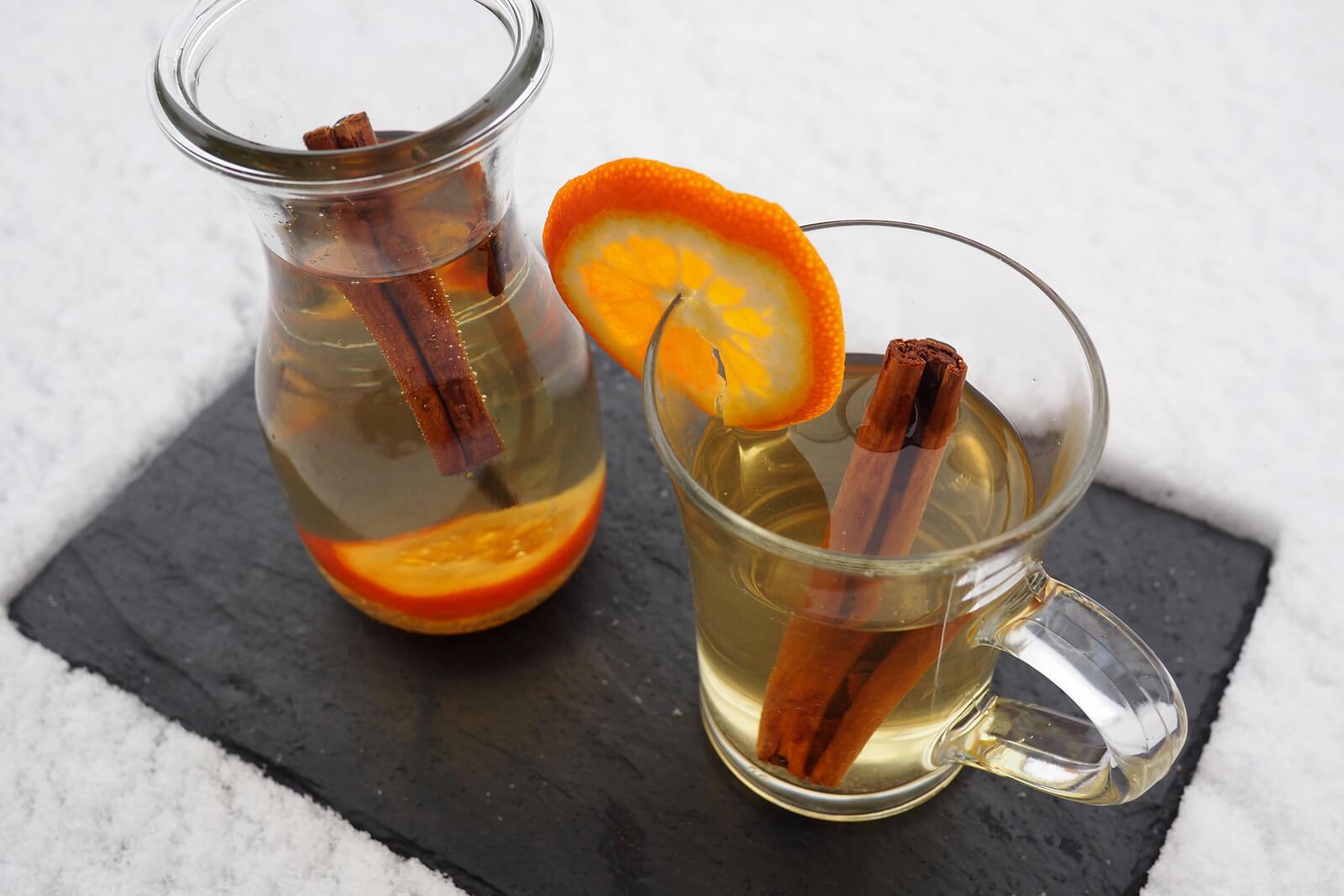 Swiss Winter Drinks - Glühmost