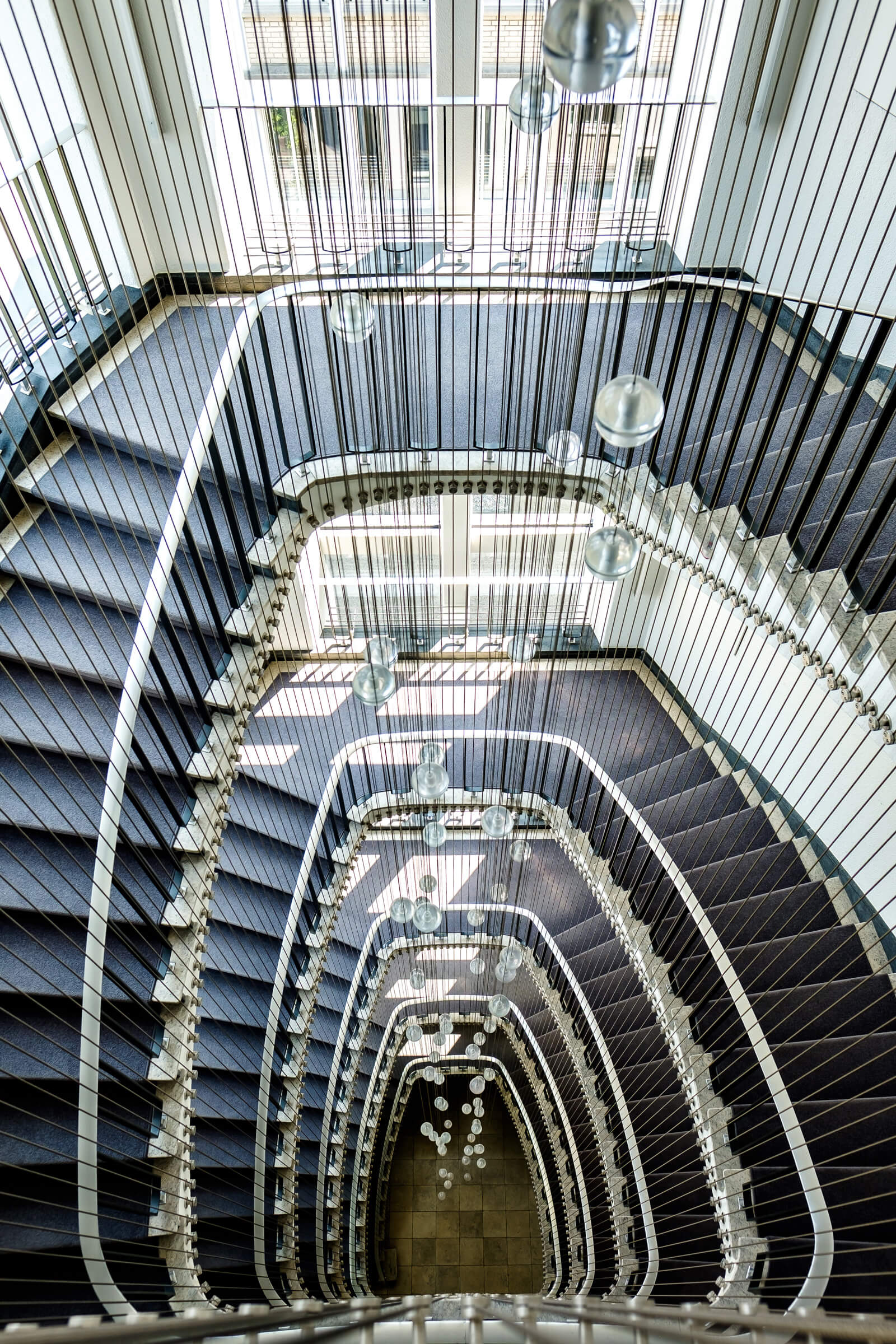Zürich Altstetten Spiral Staircase