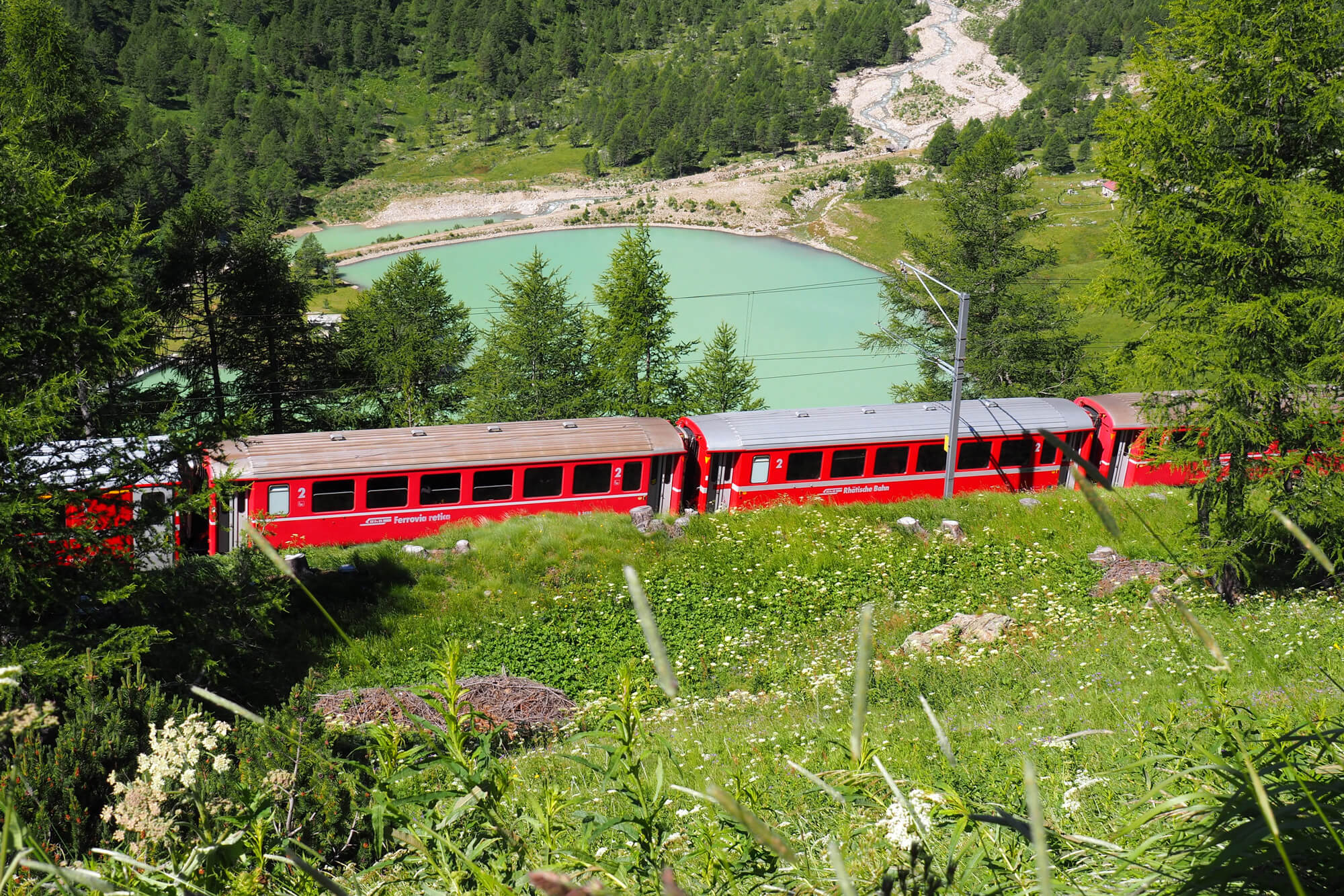 Bernina Express - Alp Grüm