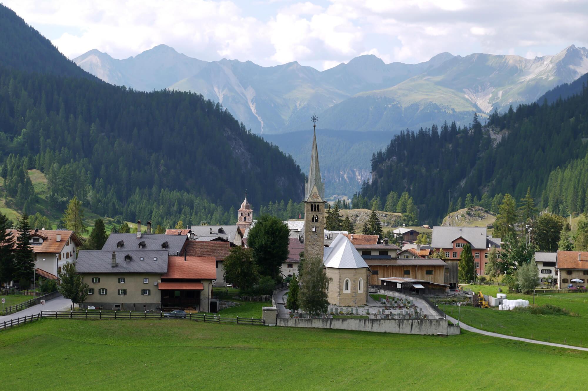 Bernina Express - Bergün, Switzerland
