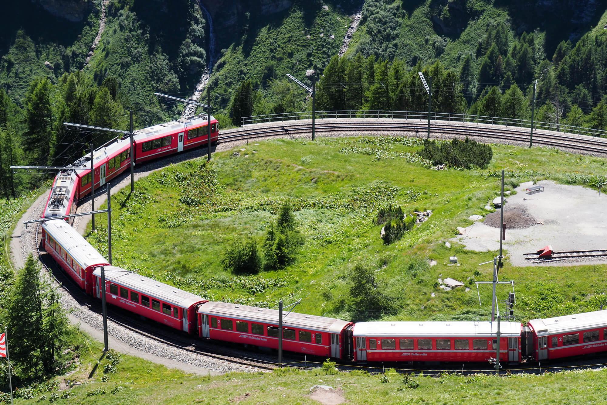 Bernina Express - Brusio Spiral