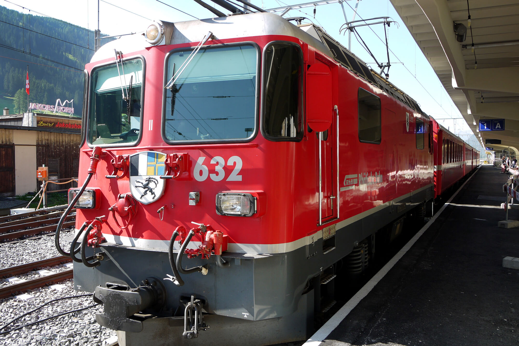 Bernina Express in Chur