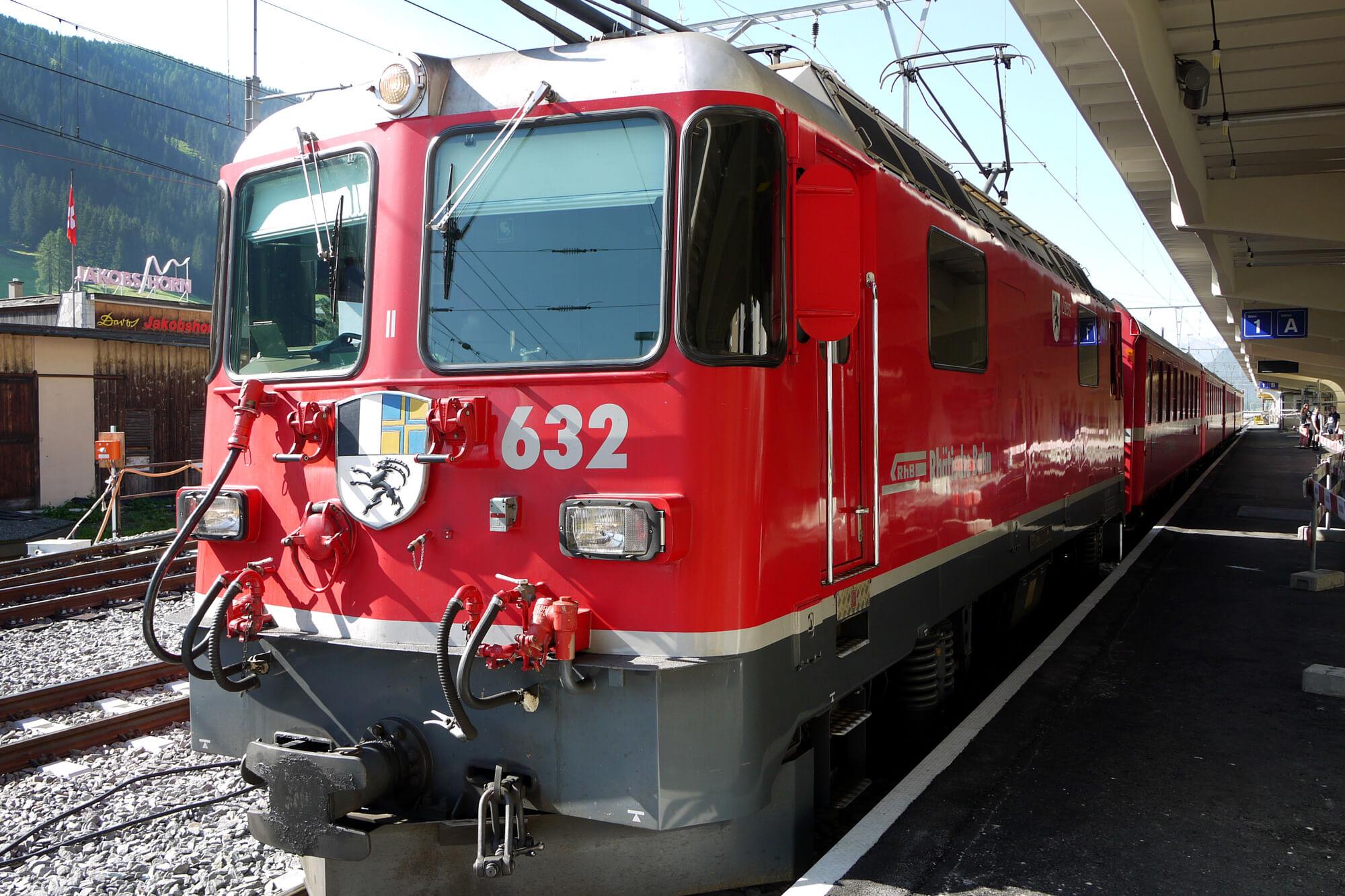 Bernina Express in Chur