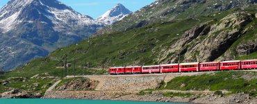 Bernina Express - Lago Bianco