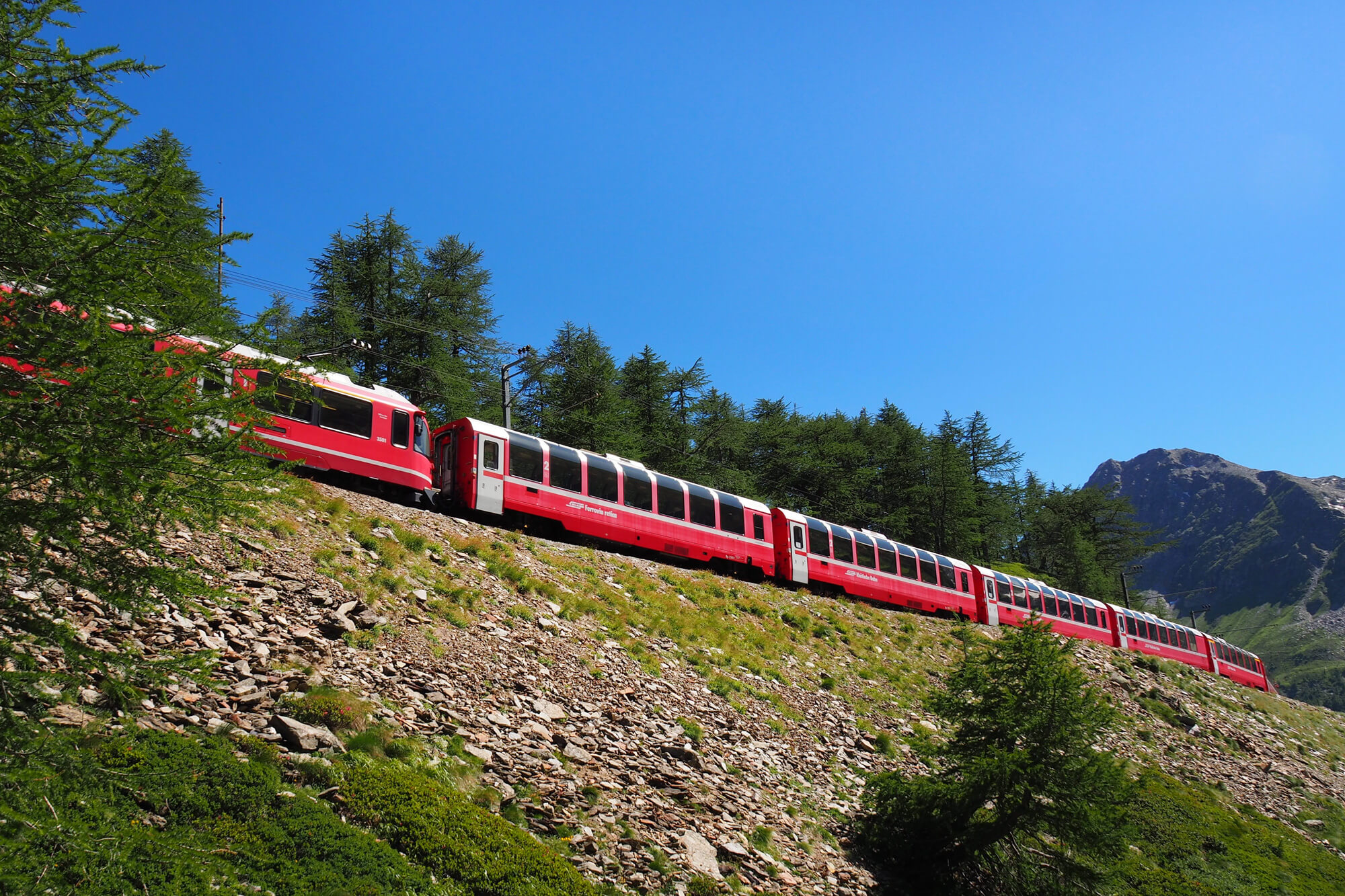 Bernina Express - Landscape