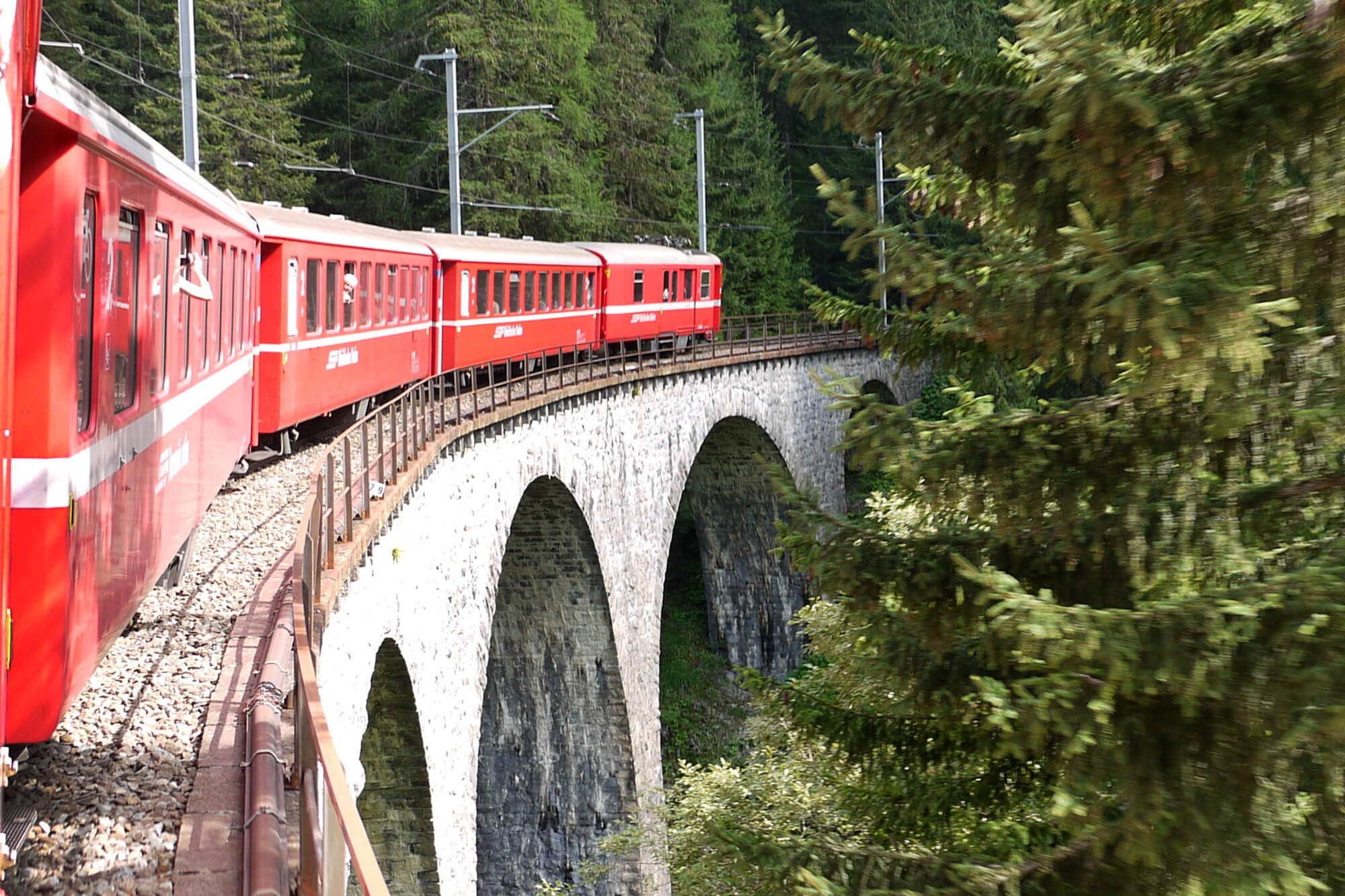 Bernina Express - Landwasser Viaduct