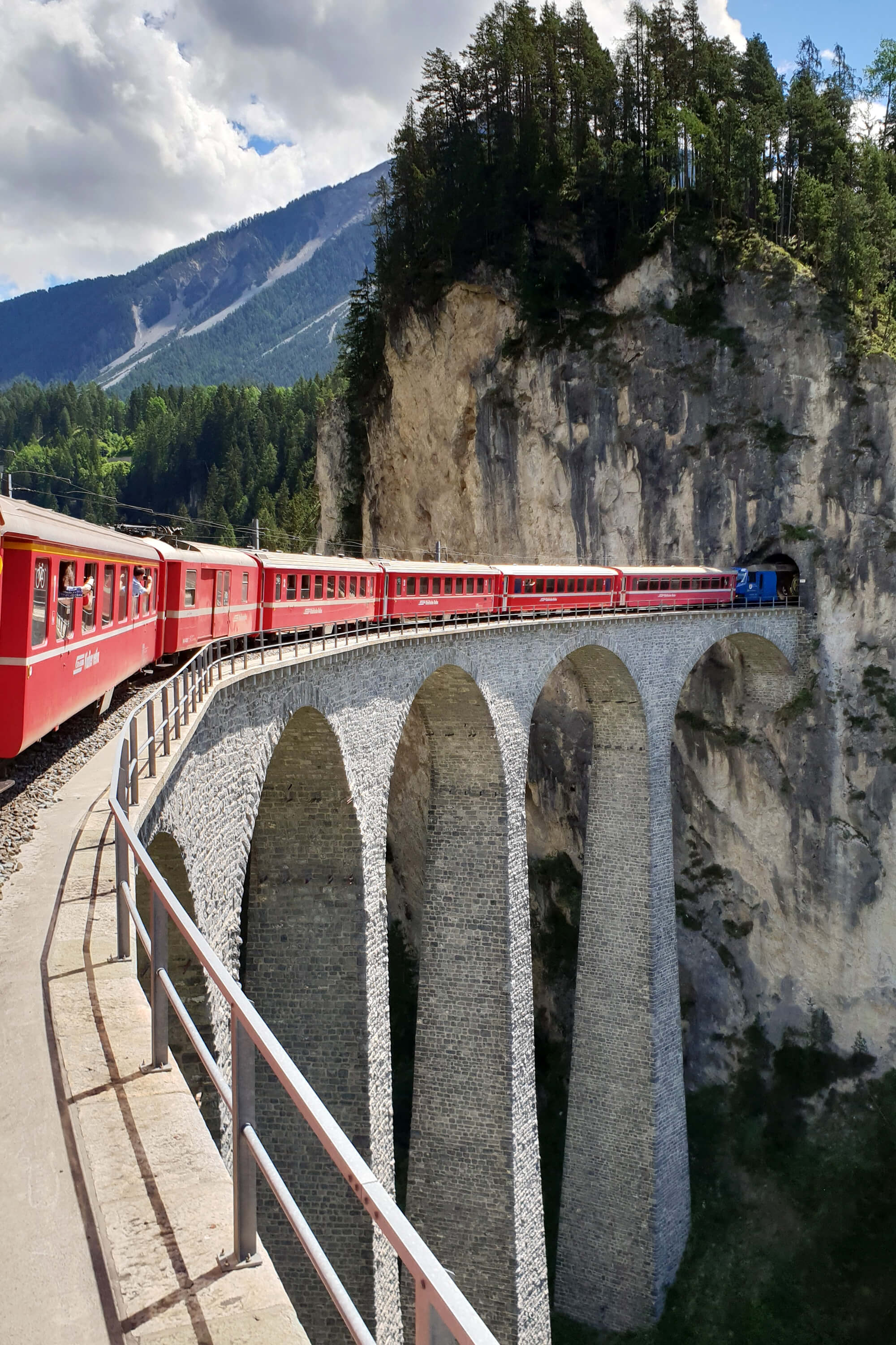 Bernina Express - Landwasser Viaduct