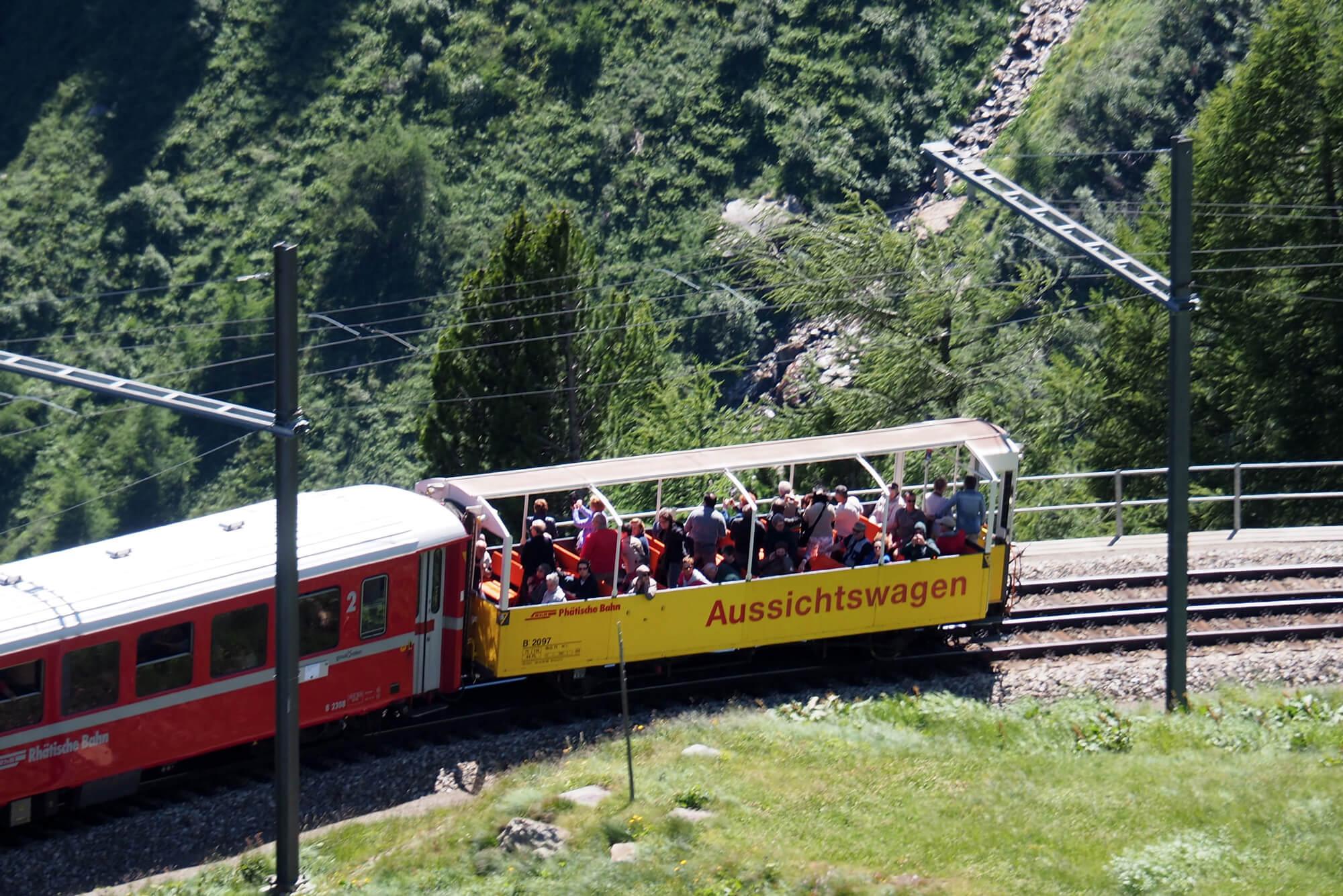 Bernina Express - Panoramic Coach